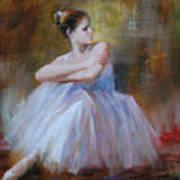 Ballerina E Art Print