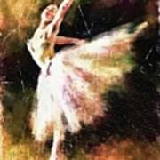 Ballerina Girl Art Print