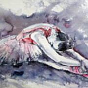 Ballerina Art Print