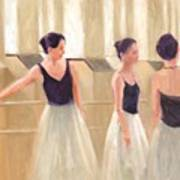 Ballerinas Waiting Art Print