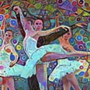 Ballet Carnival Art Print