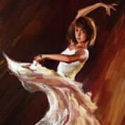 Ballet Dance 0706  Art Print