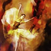 Ballet Dance 3390 Art Print