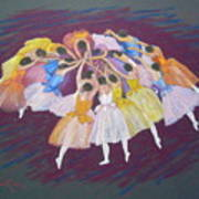 Ballet Dancers Print by Rae  Smith PSC