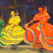 Ballet Folklorico Art Print
