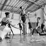 Ballet Practice - Havana Art Print
