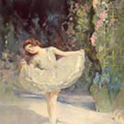 Ballet Art Print by Septimus Edwin Scott