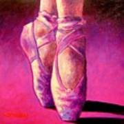 Ballet Shoes  II Art Print