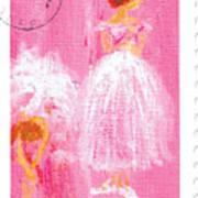 Ballet Sisters 2007 Art Print