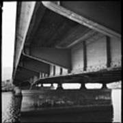 Ballona Creek Bridge Art Print