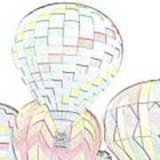 Balloon Day Art Print