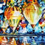 Balloon Festival New Art Print