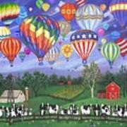 Balloon Race Two Art Print