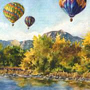 Balloons At Twin Lakes Art Print