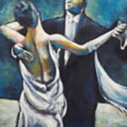 Ballroom Dancers Art Print