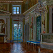 Ballroom Of The Lazienki Palace Art Print