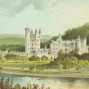Balmoral Castle, Scotland Art Print