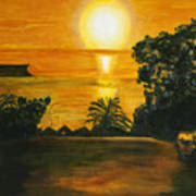 Balmoral Sunrise Art Print