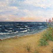 Baltic Coast Art Print