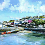 Baltimore Harbour County Cork Art Print