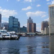 Baltimore Inner Harbor Art Print