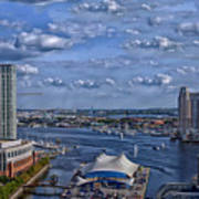 Baltimore Maryland Inner Harbor Art Print