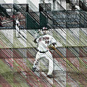Baltimore Orioles Pitcher - Chris Tillman - Spring Training Art Print