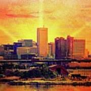 Baltimore Sunrise Art Print