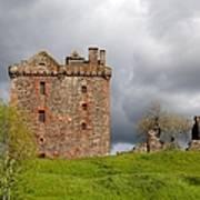 Balvaird Castle Ruins Scotland Art Print