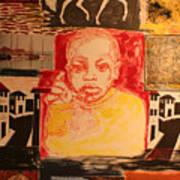 Bambino in Harlem Art Print