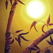 Bamboo After A Light Rain Art Print