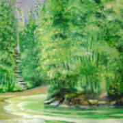 Bamboo Forests 1 Art Print