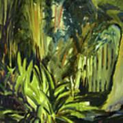 Bamboo Garden I Art Print