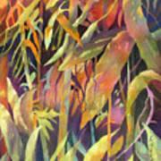 Bamboo Patterns Art Print