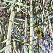 Bamboo Sprouts Forest Art Print
