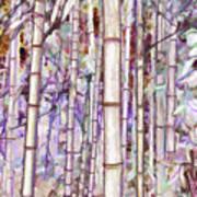 Bamboo Texture Art Print