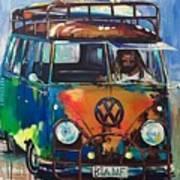 Bamf-vw Microbus Art Print