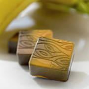 Banana Chocolate Art Print