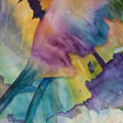 Banana Leaves Of Color Art Print