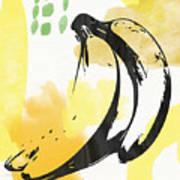 Bananas- Art By Linda Woods Art Print
