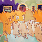 Banda Di Villaggio Art Print