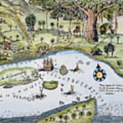 Bandar Abbas, 17th Century Art Print