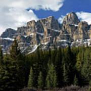 Banff - Castle Mountain Art Print