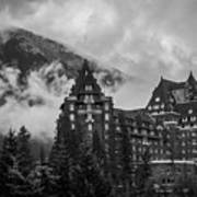 Banff Fairmont Springs Hotel Art Print