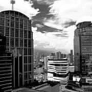 Bangkok Skies Art Print