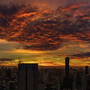 Bangkok Sunrise Art Print