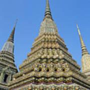 Bangkok, Wat Po Art Print