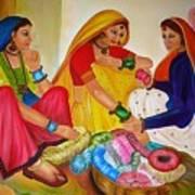 Bangle Seller Art Print