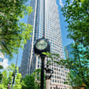 Bank Of America Corporate Center In Charlotte, Nc Art Print