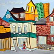Bank Street West Art Print